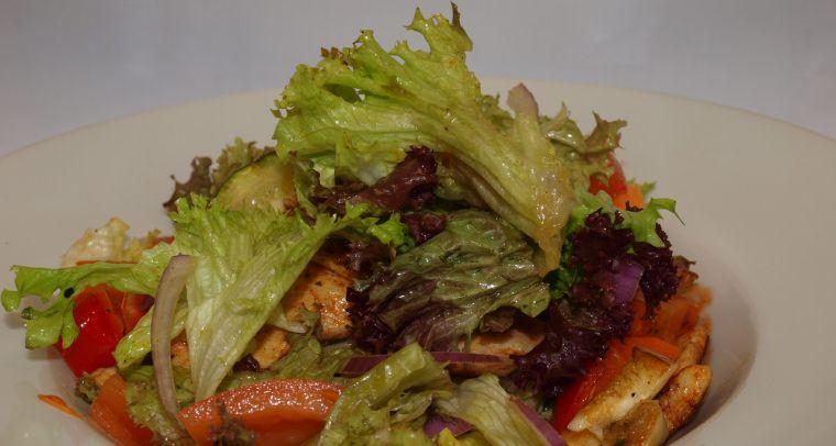 salat kuracie kusky